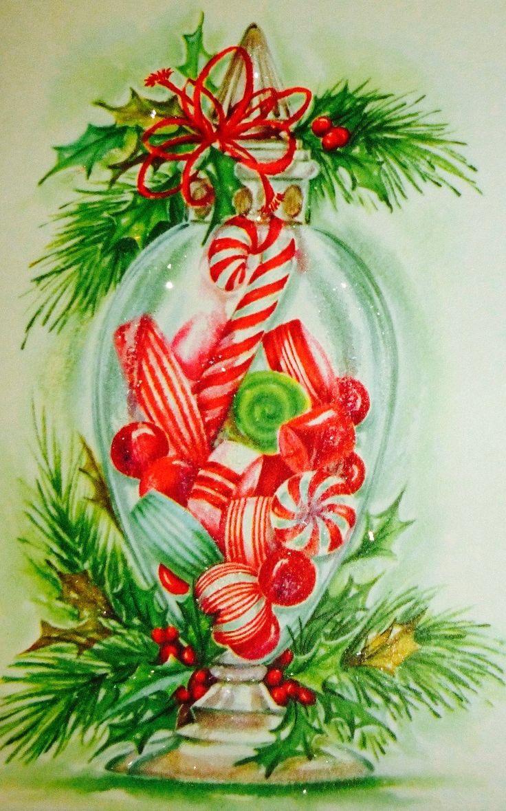925 best Vintage Christmas images on Pinterest | Retro christmas ...