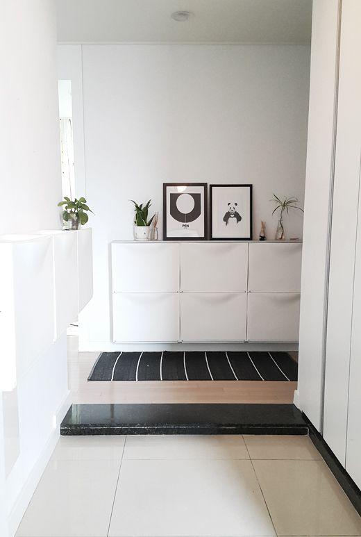 Oltre 1000 idee su meuble chaussure ikea su pinterest for Ikea meuble rangement chaussures