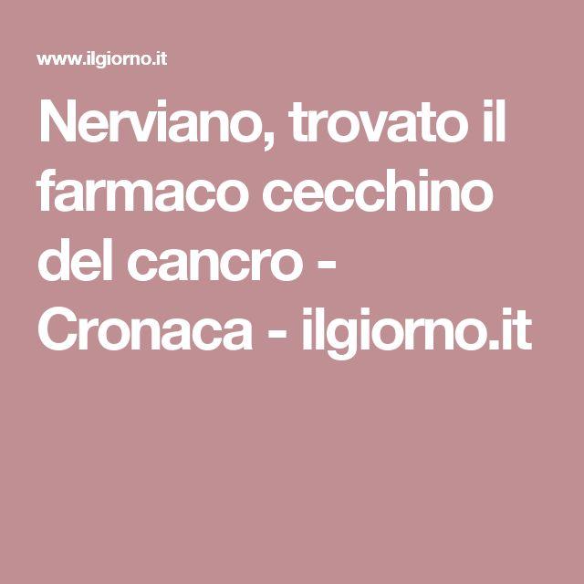 Nerviano, trovato il farmaco cecchino del cancro - Cronaca - ilgiorno.it