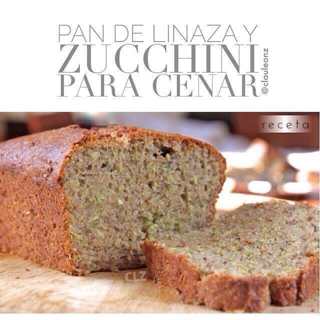 """""""Pan de calabacin y linaza #glutenfree #paleo Necesitas: 1 taza y media de harina de linaza (sustituible por harina de almendra ó coco, ambas recetas en…"""""""