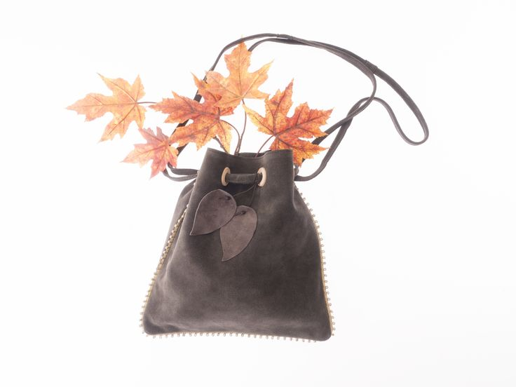 Mini bag New Leaves collection by HappyM #happym #fashion #leatherbag #onlineshopping