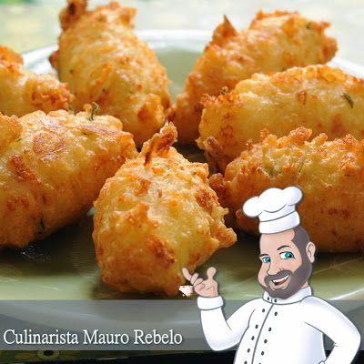 Mauro Rebelo: Bolinho de Arroz Fofinho - Olá pessoal, a Cilene Gomes postou uma receita de bolinhos de arroz. A Cilene tem um buffet e faz esses bolinhos em sua mesa de Churrasco.: