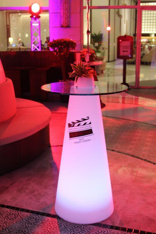 Peak Table With Pink Light, Design Aksu, Suardi. #slide #design #