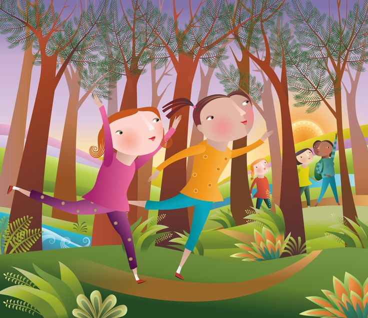 #ChristianeBeauregard #childrensillustration #children #digitalillustration #children #play #illustration #lindgrensmith