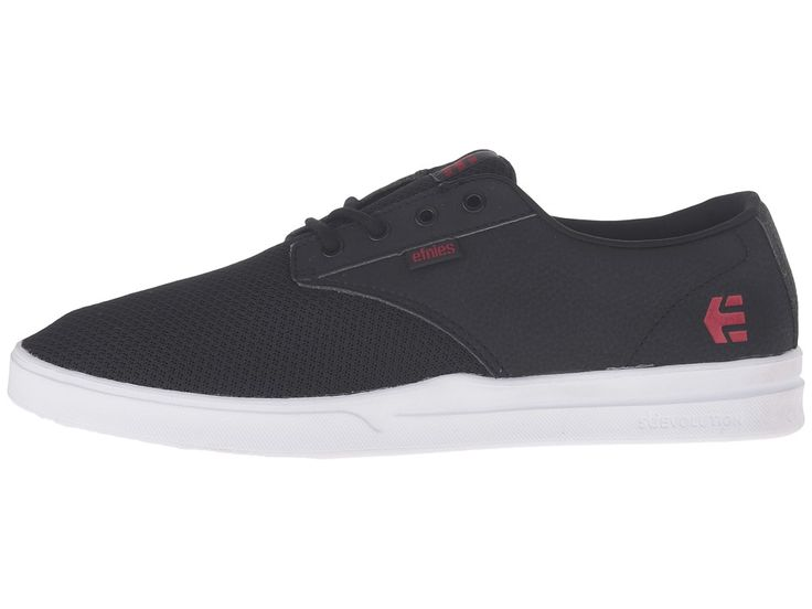 etnies Jameson SC Men's Skate Shoes Black/White/Red