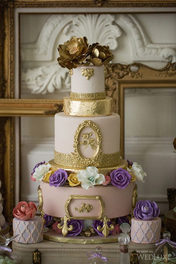 Cakes by Sweet Celebrations | Enchanted Beauty Wedding Inspiration