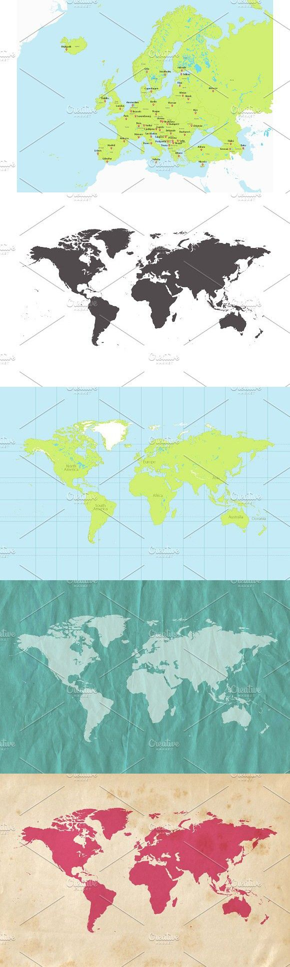Best 25 map vector ideas on pinterest vector map timeline world and europe map vector world worldmap gumiabroncs Images