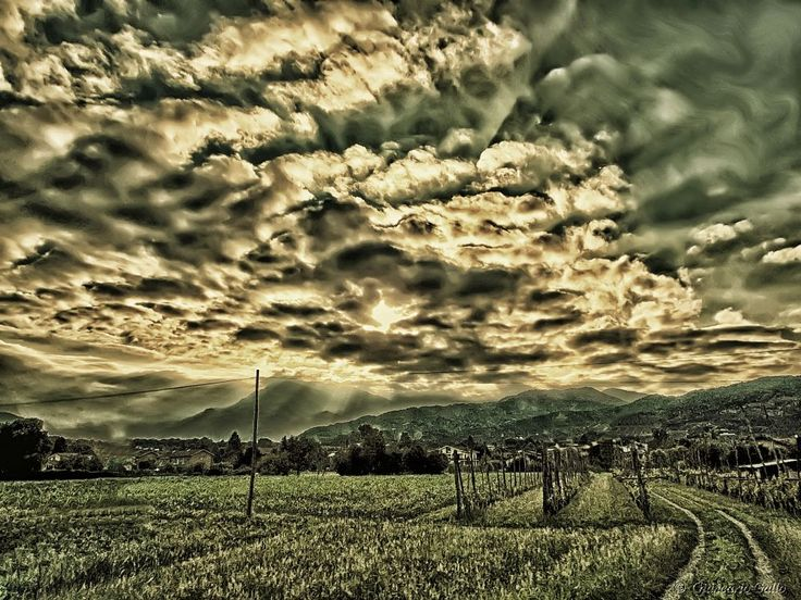 Few clouds in the sky  by Giancarlo Gallo