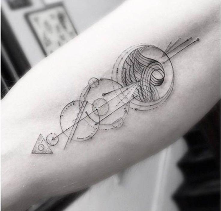 Tatuajes geométricos por Dr. WooMUNDOFLANEUR.COM | MUNDOFLANEUR.COM