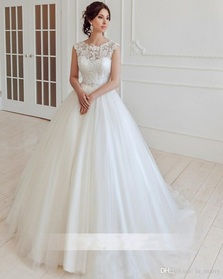 2015 Simple Cheap Beach Wedding Dresses A Line Scoop Plus Size Long Tulle Plus Size Lace Appliques Maternity Country Bridal Gowns Novia 2016 Wedding Dresses Plus Size Wedding Dresses Cheap Wedding Dresses Online with $211.43/Piece on In_marry's Store | DHgate.com