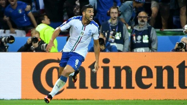 Graziano Pellè (ITA) - 2nd Goal - Belgium vs Italy 0-2 - Group Stage UEFA Euro 2016