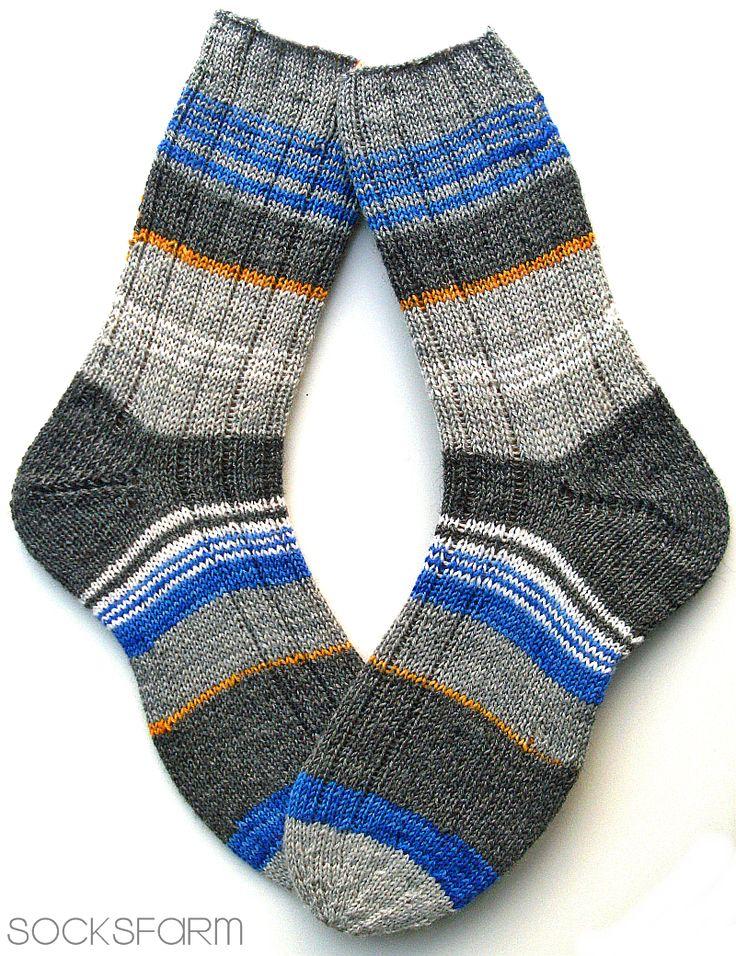 333 best socken muster images on Pinterest | Socken stricken ...