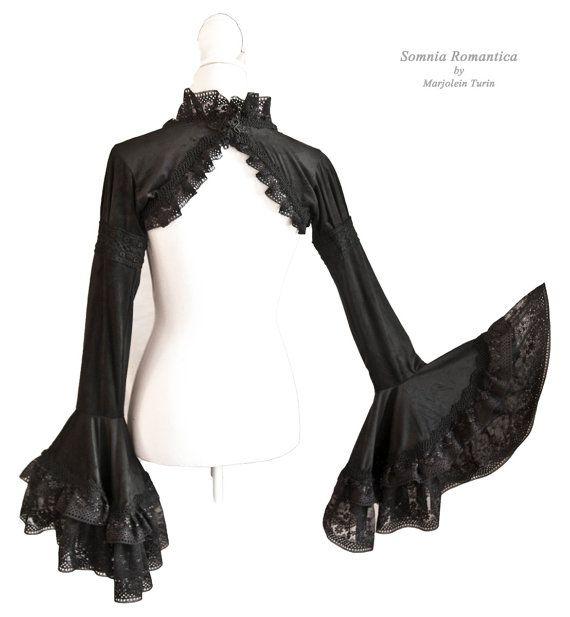 beautiful shrug with edwardian sleeves, Somnia Romantica by Marjolein Turin