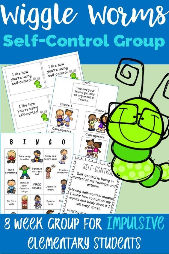 Self-Control Counseling Group - Wiggle Worms | Social