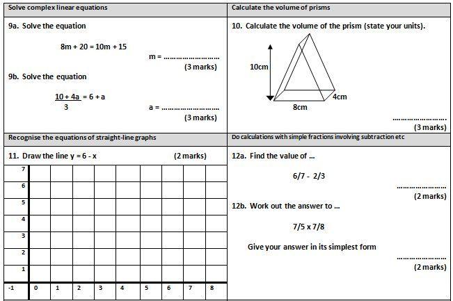 Gcse Maths Revision Worksheets gcse maths cumulative frequency – Maths Revision Worksheets Gcse