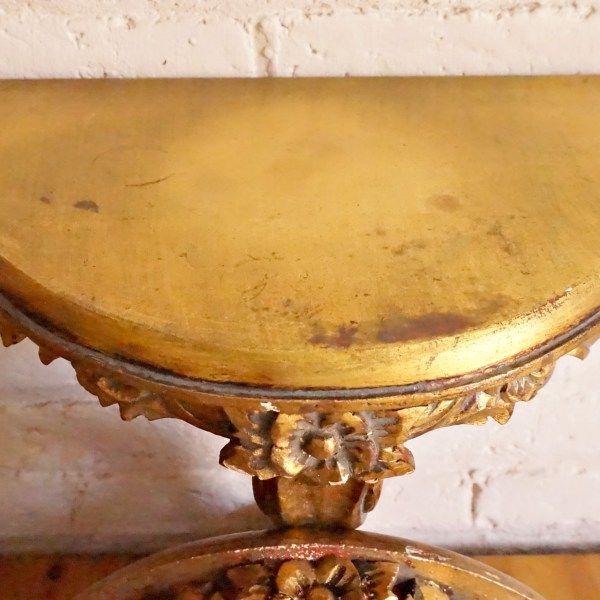 12 best mesa auxiliar velador dorada images on pinterest - Mesa auxiliar dorada ...
