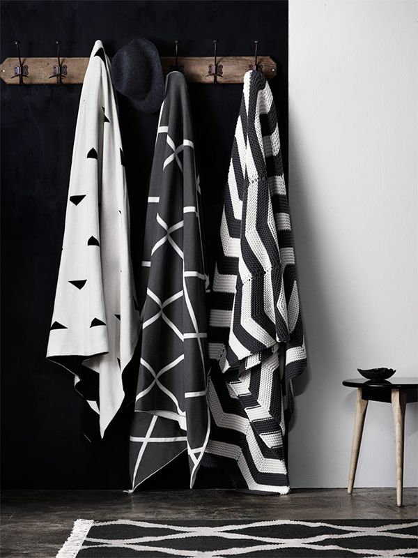 Chevron throw | AURA by Tracie Ellis