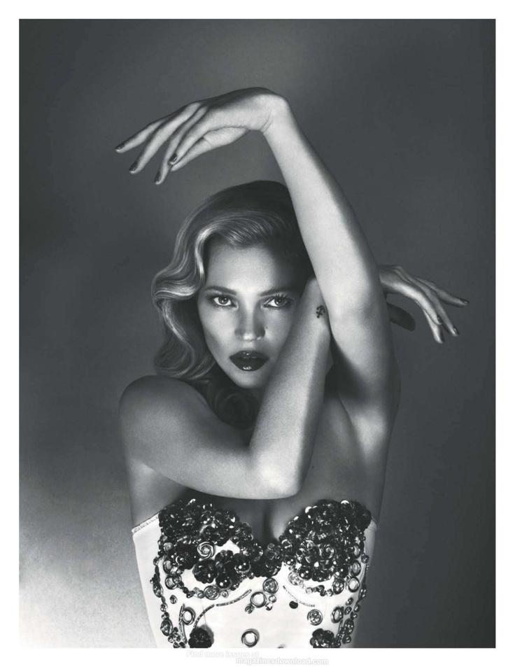 Kate Moss - Vogue UK by Mert & Marcus, June 2012  Im not really fan of Kate Moss as a person from quotes and how she portrays herself in public but this is just a really lovely picture