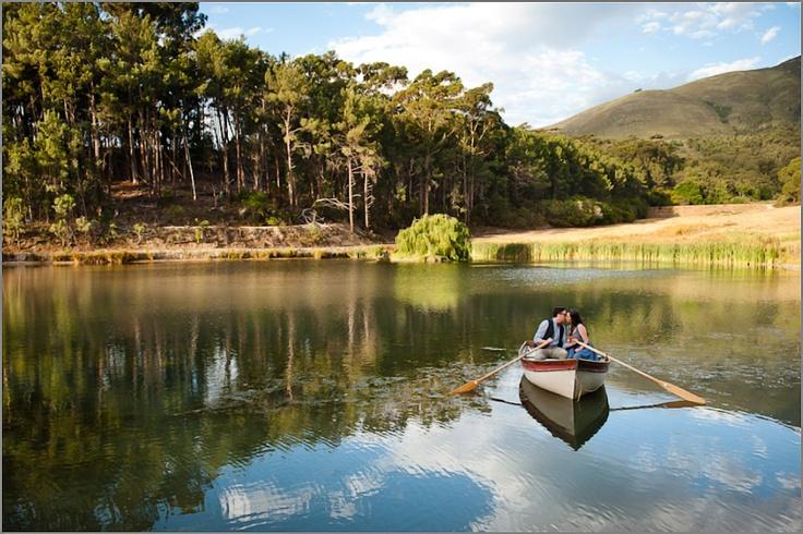 Tamlin & Nadim's engagement shoot at Langkloof Rose Farm in Cape Town. Photo by Lauren Kriedemann.