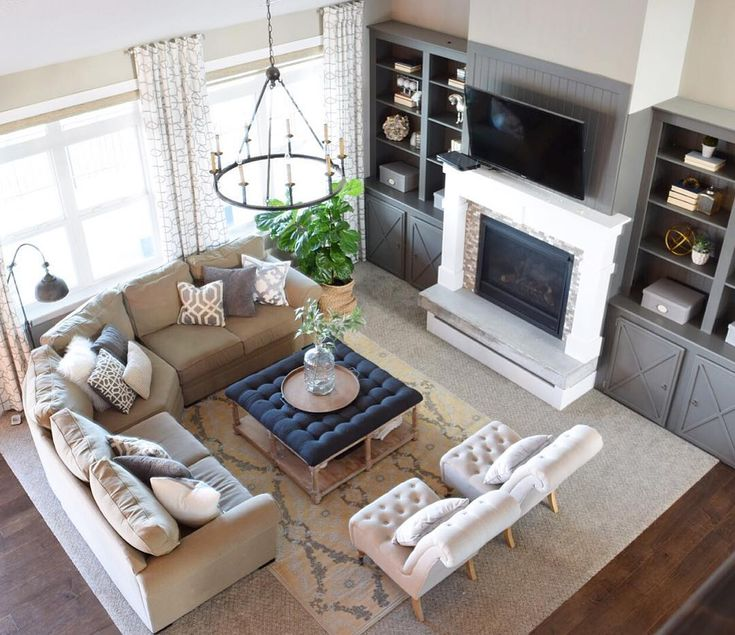 Best 25 great room layout ideas on pinterest - Furniture layout ideas for living room ...