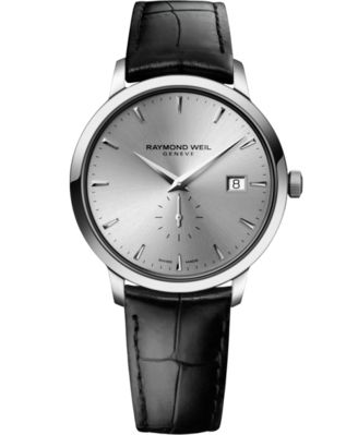 RAYMOND+WEIL+'TOCCATA'+WITH+SILVER+DIAL