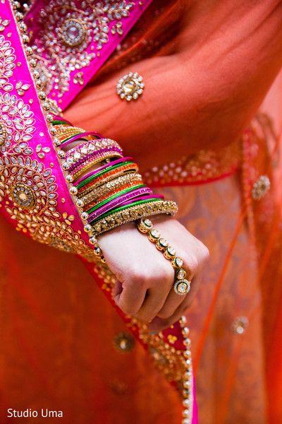 bridal churis and hath phool http://www.maharaniweddings.com/gallery/photo/71777