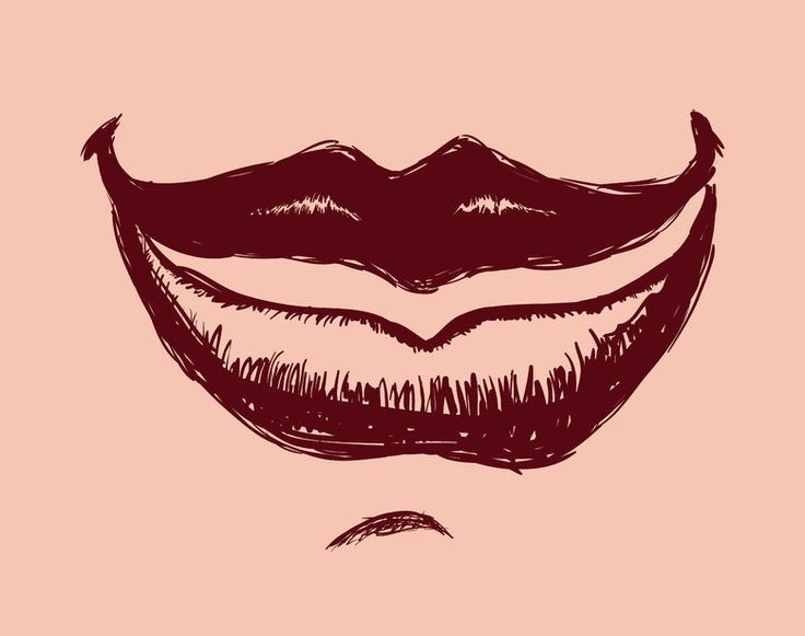 How To Draw A Mouth | www.drawing-made-easy.com | #mouth #draw