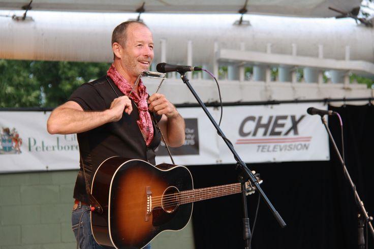 Barney Bentall - August 6, 2014 at Peterborough Musicfest