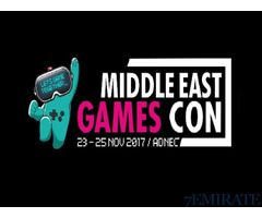 Tickets for Middle east games con 3 day tickets for Sale in Dubai