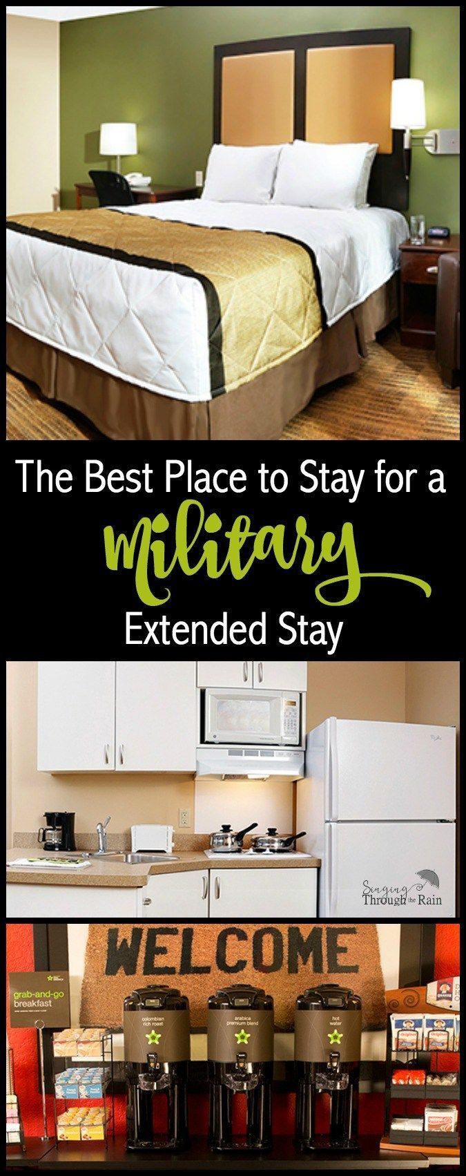 Whether you are PCSing across the country or your spouse is going on TDY, Extended Stay America's prices are always at or below the per diem rate. #myESA