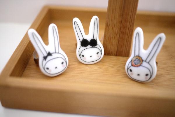 Image of Fifi Lapin Ceramic Ring