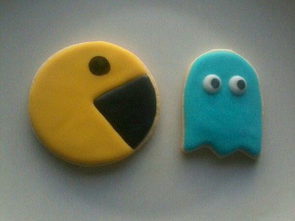 Pac-Man y fantasma