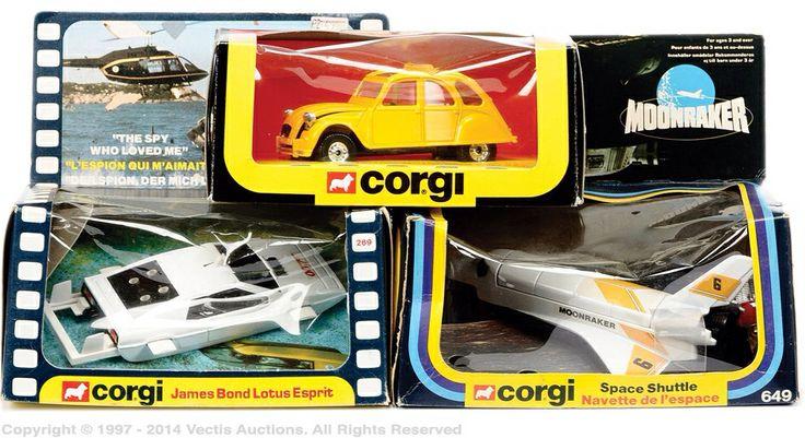 James Bond Corgi Toys collection