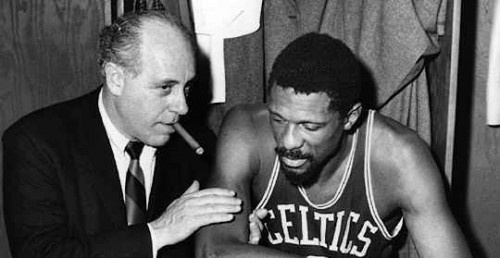 Celtics Vintage ~ Red Auerbach and Bill Russell