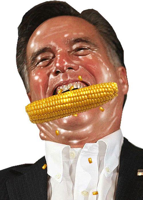 Greasy Face Mitt Romney