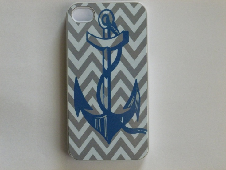 Rubber iPhone 4 Case Blue Anchor on Nautical by CreateItYourWay: Iphone Cases, Anchors Aweigh, Anchors Girls, Iphone 4S, Rubber Iphone, Cases Blue, Iphone 4 Cases, Blue Anchors, Anchors Everything
