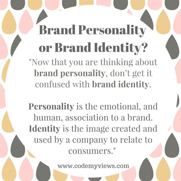 Brand Personality vs Brand Identity #brandpersonality #brandidentity #branding