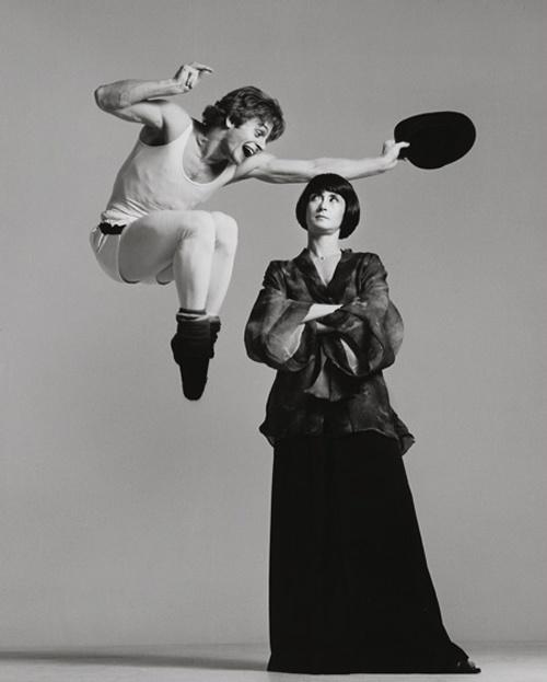 Mikhail Baryshnikov and Twyla Tharp by Richard Avedon  ♥ www.thewonderfulworldofdance.com #ballet #dance