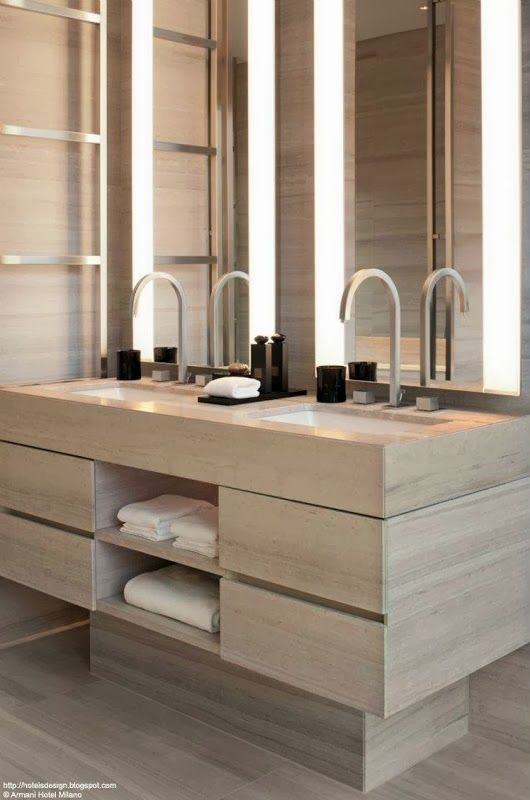 The Paper Mulberry: || BATHROOM | Master Suite****Check out the rest of the post--several good ideas****