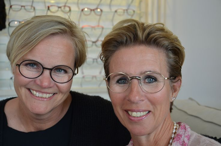 Pernille og Anja in the store - wearing Lindberg and Masunaka