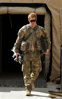 bad ass ginger..Prince Harry
