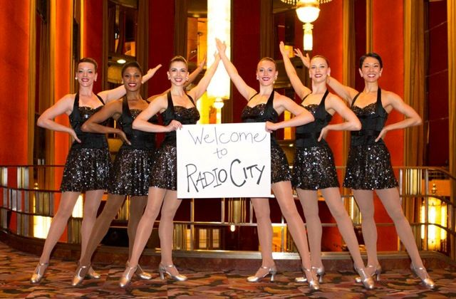 Thanks for the warm welcome, Rockettes! #TheRockettes #RadioCityMusicHall #AGT