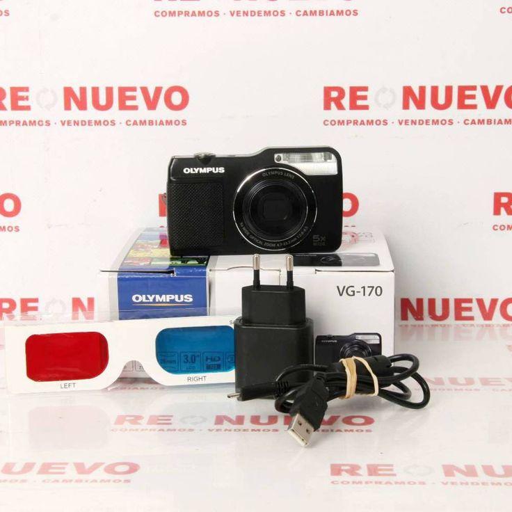 OLYMPUS VG-170 de segunda mano E278789   Tienda online de segunda mano en Barcelona Re-Nuevo