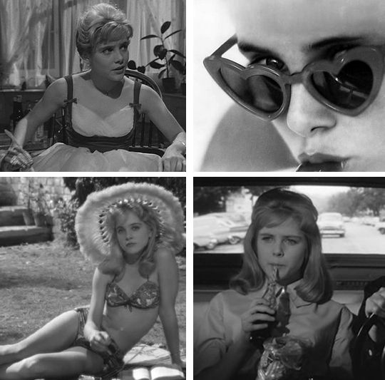 Lolita (1962) directed by Stanley Kubrick.