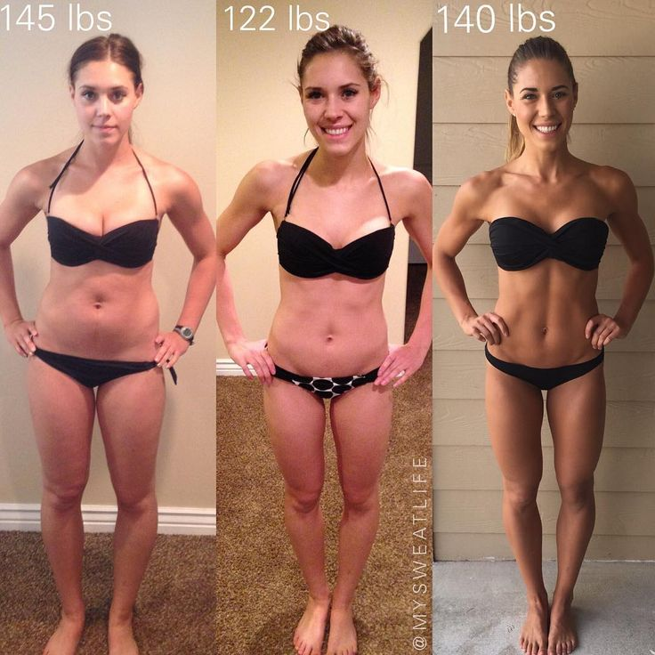 This Fitness Blogger's Before-And-After Pic Shuts Down A Major Misconception About Weight | SELF