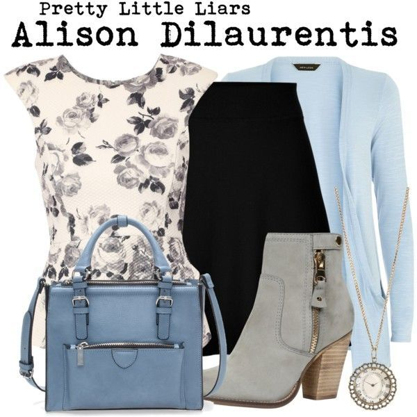 Pretty Little Liars- Alison Dilaurentis by darcy-watson on Polyvore featuring Jane Norman, Theory, ALDO, Zara, Aéropostale, women's clothing, women's fashion, women, female and woman