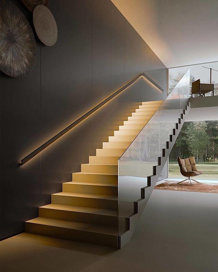 Bedroom Designed By Tatiana Home Decor Staircase Design Modern Stairs Design Modern Home Stairs Design Stair design architect room design