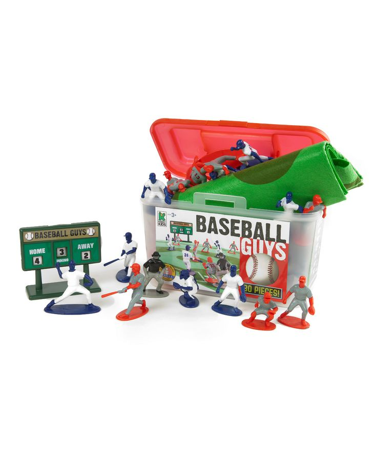 Baseball Guys Red vs. Blue Figure Set | Daily deals for moms, babies and kids