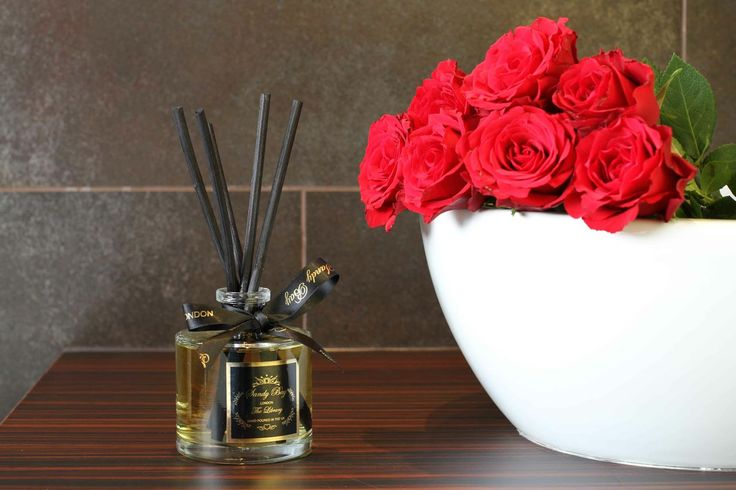 The Library Diffuser has divine notes of Vetiver, Orange, Tobacco and Leather, unique and fabulous www.sandybaylondon.com