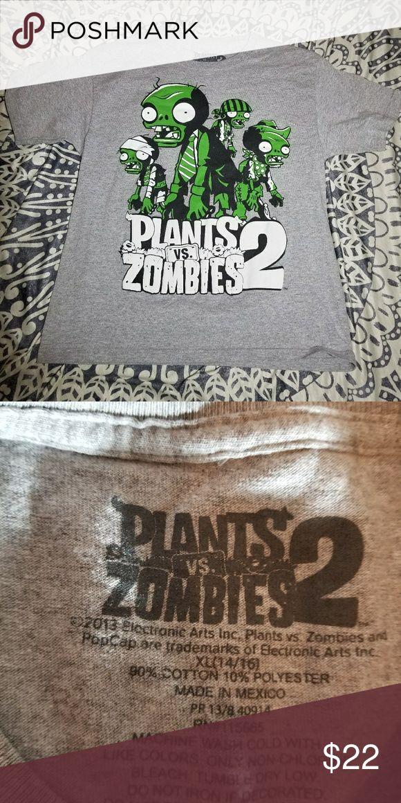 Zombies Vs plants tee Zombies Vs plants tee Shirts & Tops Tees - Short Sleeve